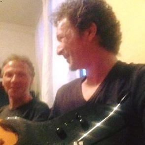 Foto Peter en ik op Fb Peter1